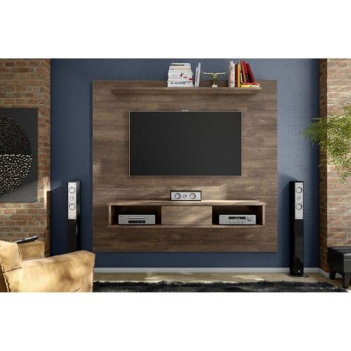 Midtown Concept Kansas Mid Century Shelf Tv Board Meuble Tele