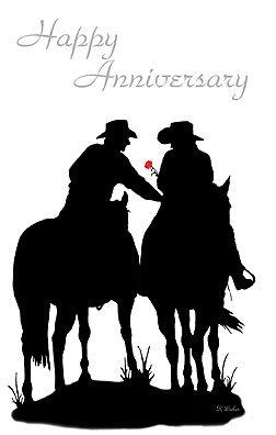 happy anniversary horse