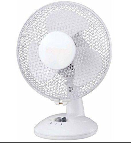 9 Desk Oscillating Air Cooling Fan Extendable Free Standing Portable Table Fan Highlands Desk Fan Electric Fan Air Fan