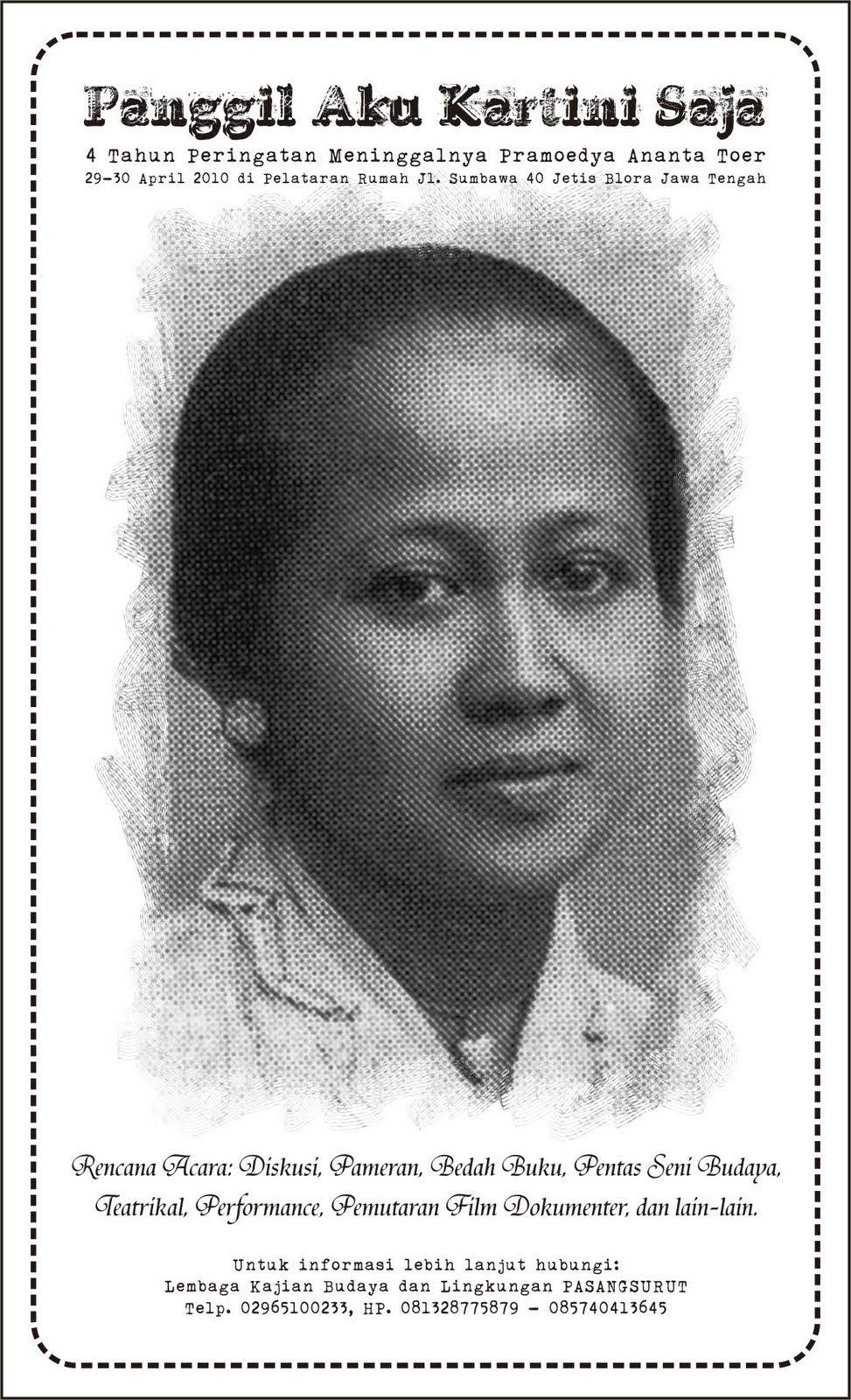 Panggil Pang To Call Someone Aku Kartini Saja April 2010