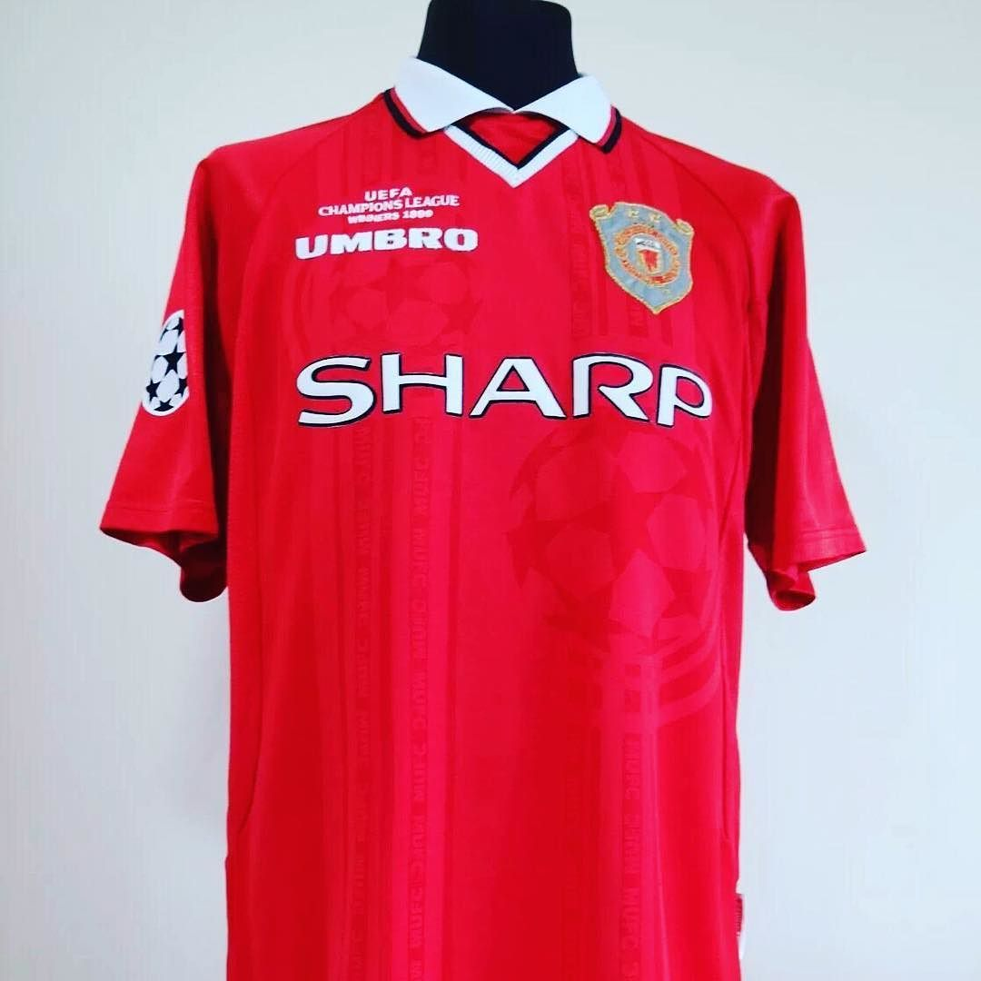 newest ba2af fa76d 1997-99 Manchester United UCL home shirt L GIGGS #11 ...