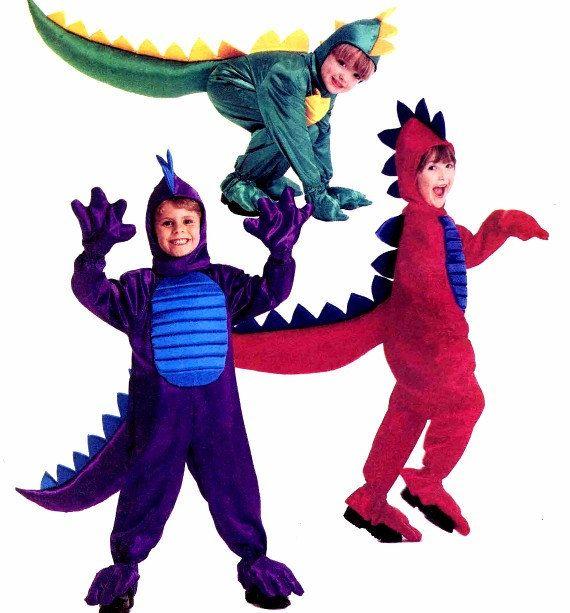 Boys Girls Dragon Costume Sewing Pattern Halloween Toddlers McCalls ...
