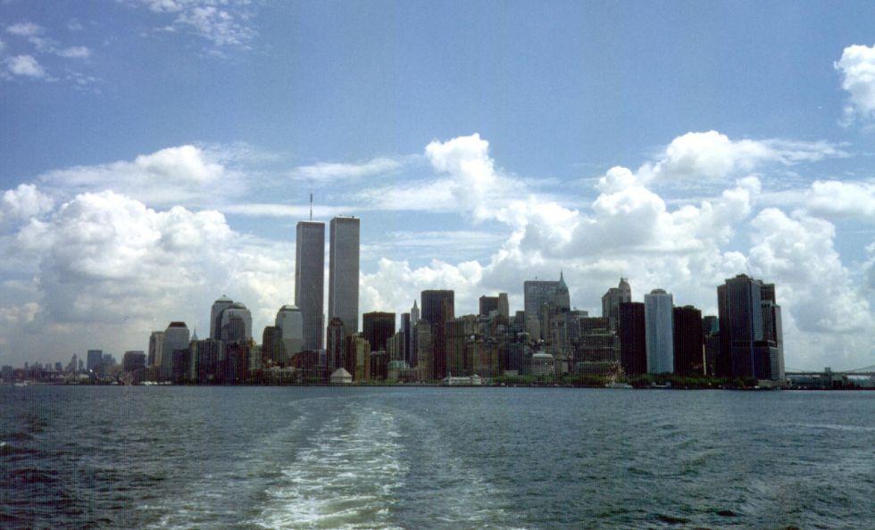 La isla de Manhattan, en Nueva York (EE UU)