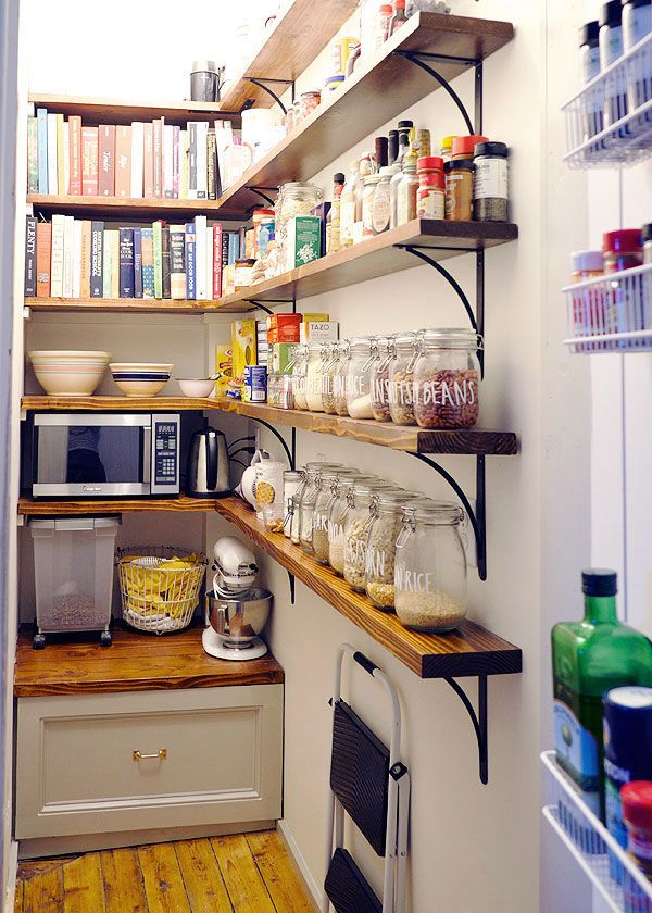 Kitchen Remodeling Manhattan Ny 13: Awesome Pantry Via Manhattan Nest