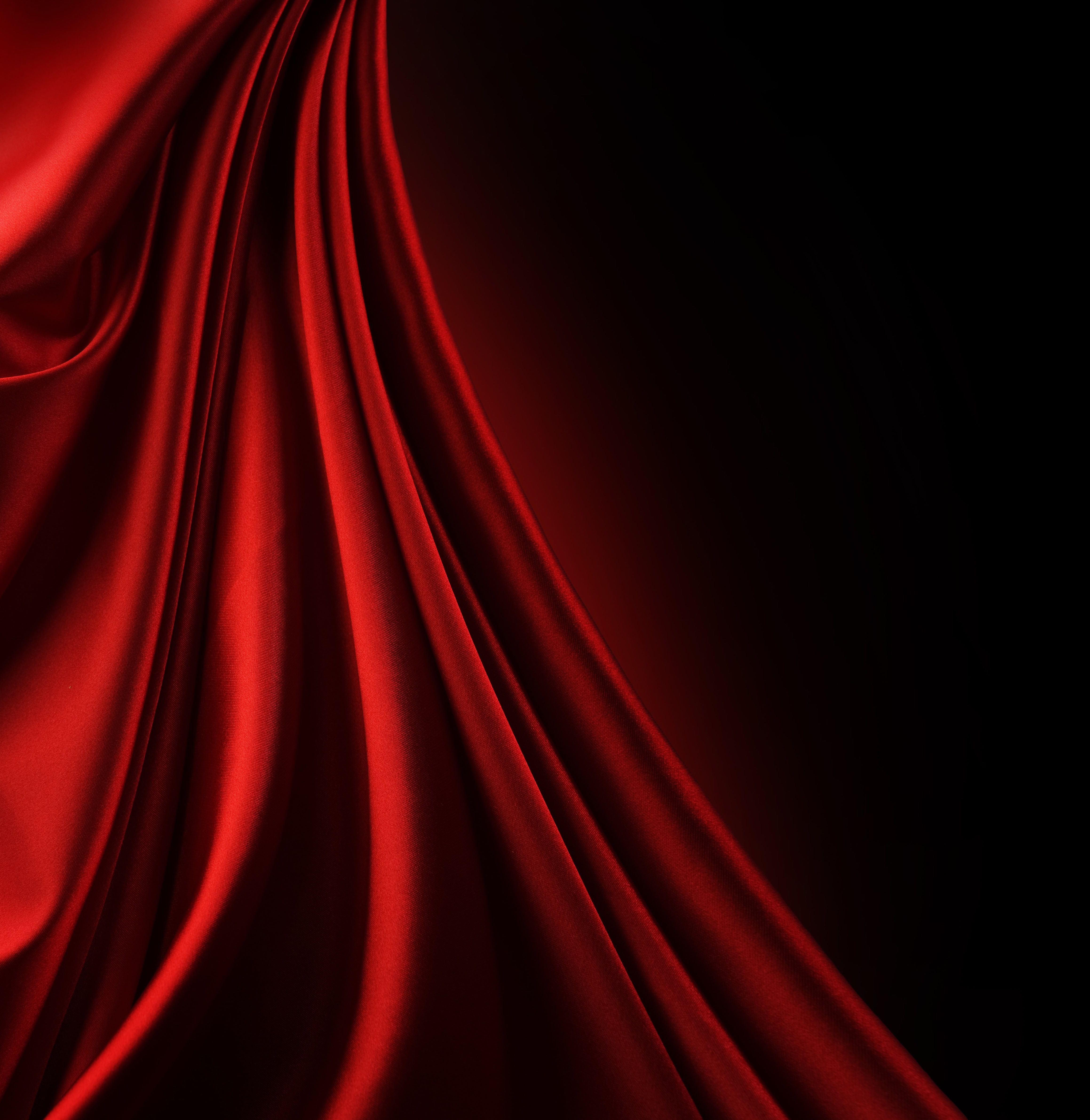 red fabric cloth background, silk, download photo ...