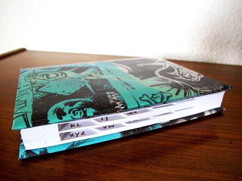 Adressbuch, DIY, Upcycling, Selbermachen, Kalender, Register - küchenkalender 2015 selbst gestalten