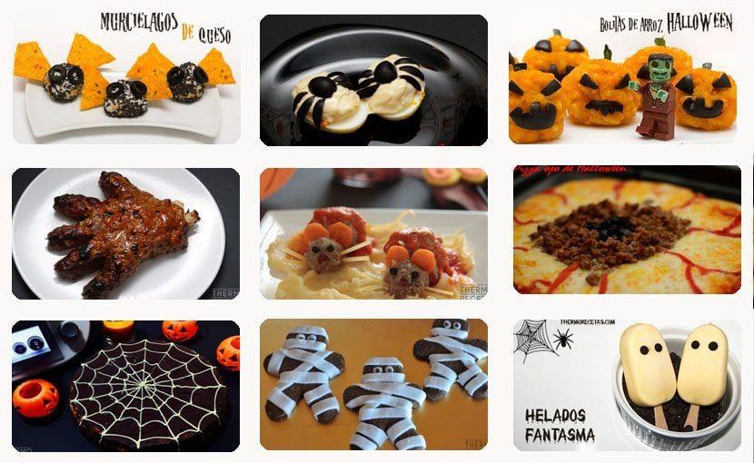 Bebidas Y Recetas Para Halloween O La Víspera De Todos Los Santos Recetas Halloween Recetas De Halloween Recetas Thermomix