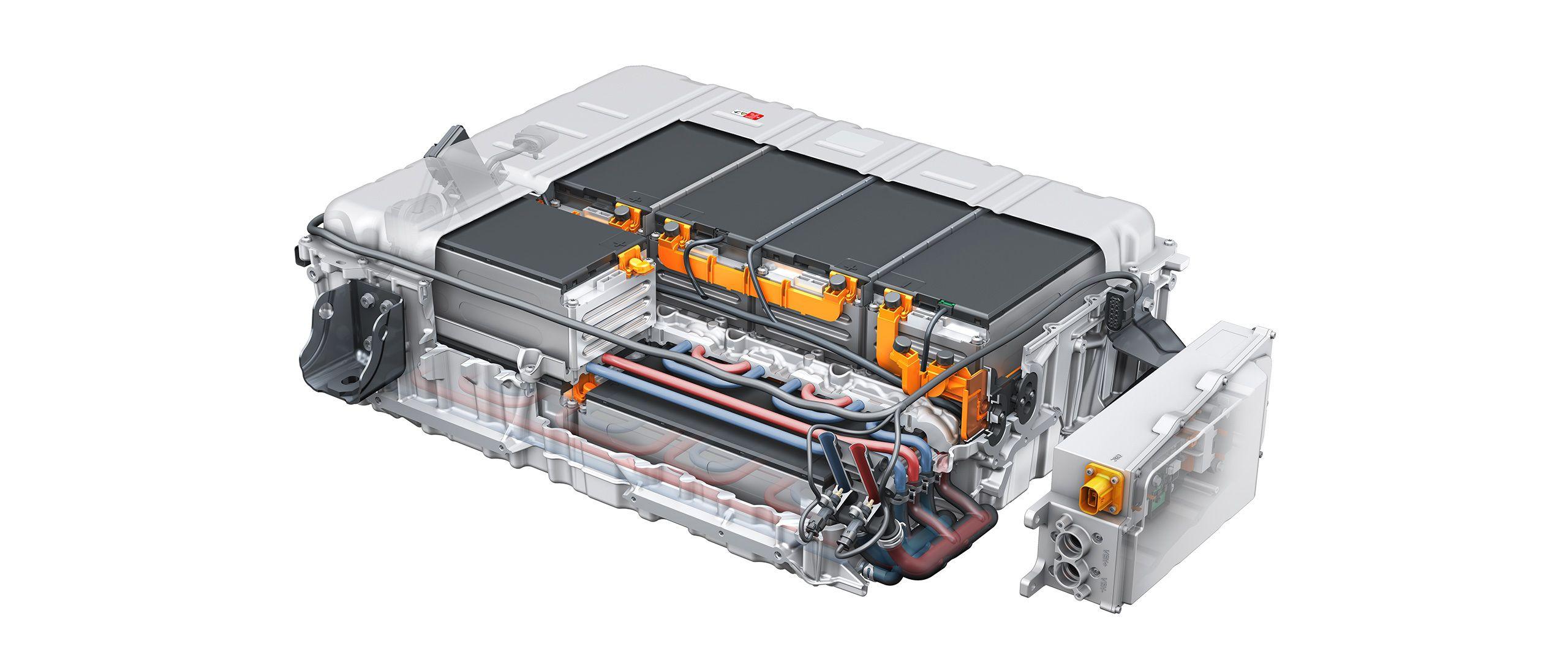 Audi Digital Illustrated Battery Technology Audi