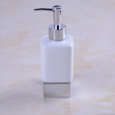 Free Shipping Samoel Chrome Liquid Soap Dispenser Holder Vintage