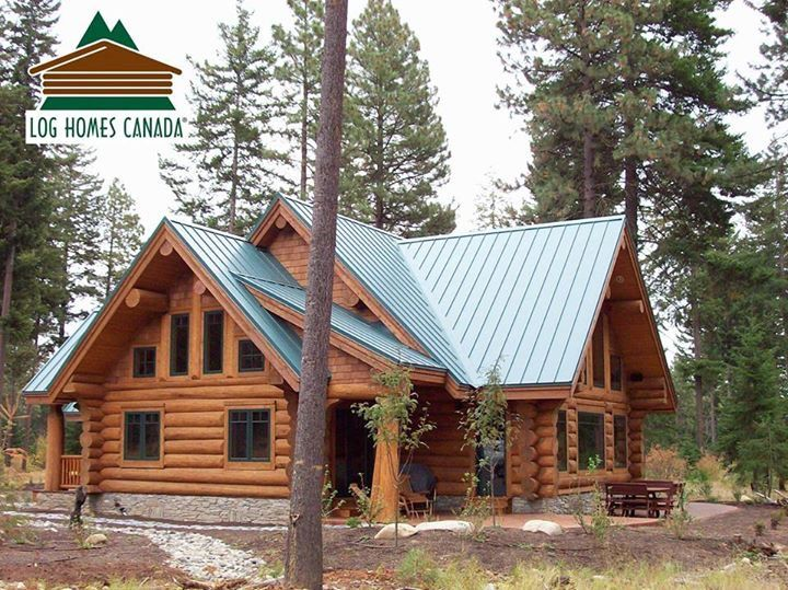 Pin By Laurie Alford Albrecht On Log Cabin Goals Log Homes Cabins And Cottages Log Home Plans