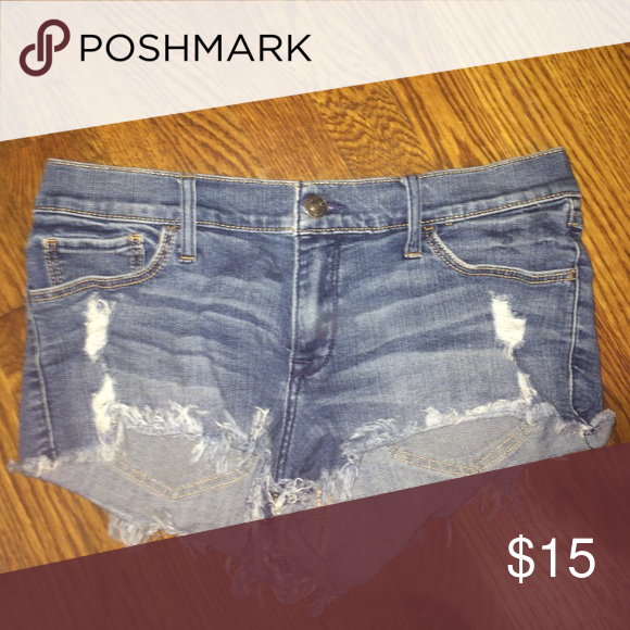 jean shorts abercrombie & fitch jean shorts Abercrombie & Fitch Shorts Jean Shorts