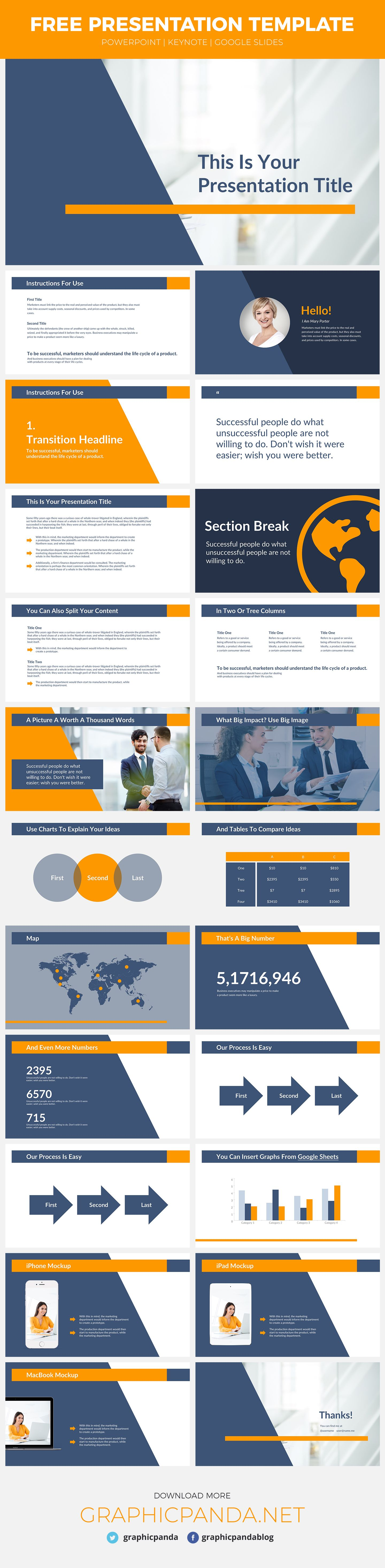 The Muse Free Powerpoint Template Was Created To Save You A Lot Of