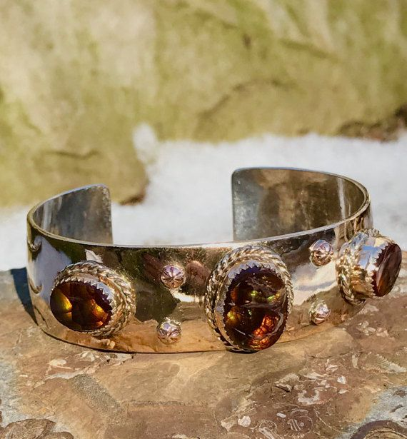 Southwestern Sterling Silver and Gold Filled by WhistlingGypsyVTG