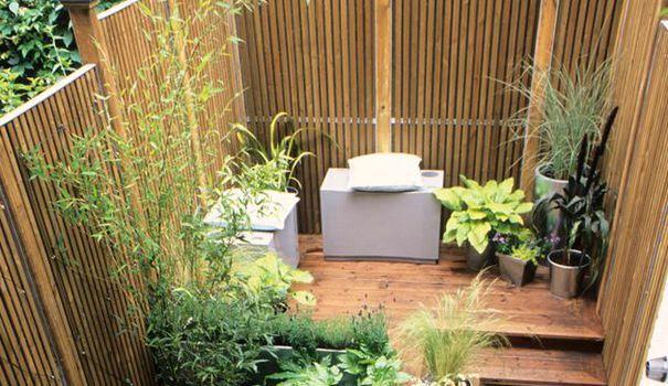 Aménagement petit jardin de ville : 11 idées via pinterest ...