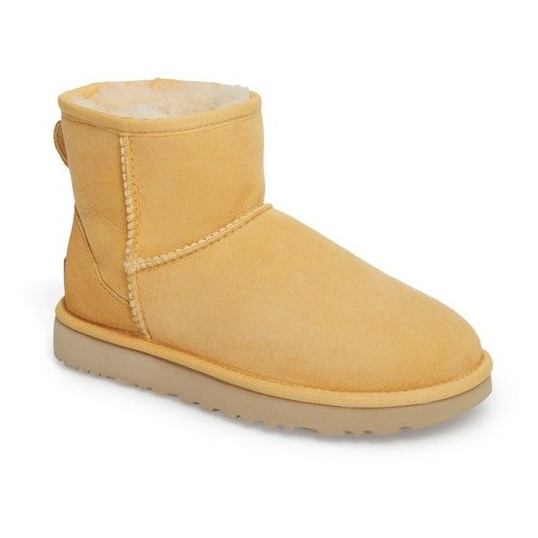 UGG CLASSIC MINI - Classic ankle boots - sunflower