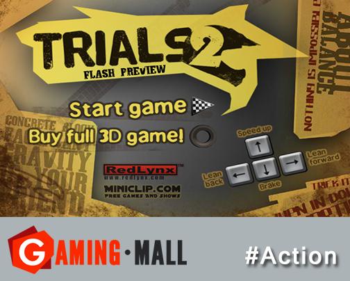 actiongames via GamingMall..Trials 2..Amazing reallife