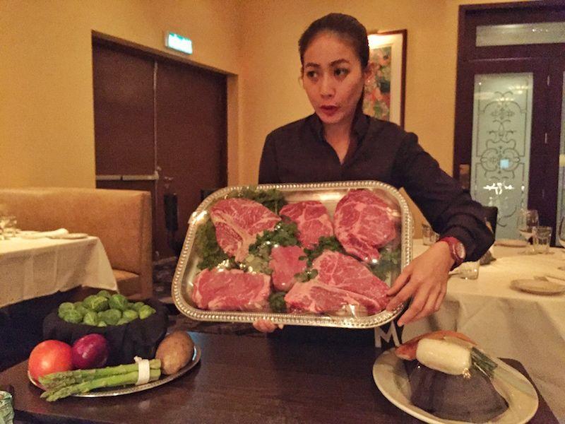 Eating out: Morton's Steakhouse Macau Food, Fun & Life in Macau