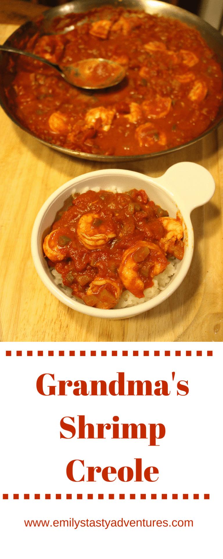 Grandma In Creole : grandma, creole, Grandma's, Shrimp, Creole, Recipes,, Creole,, Recipes