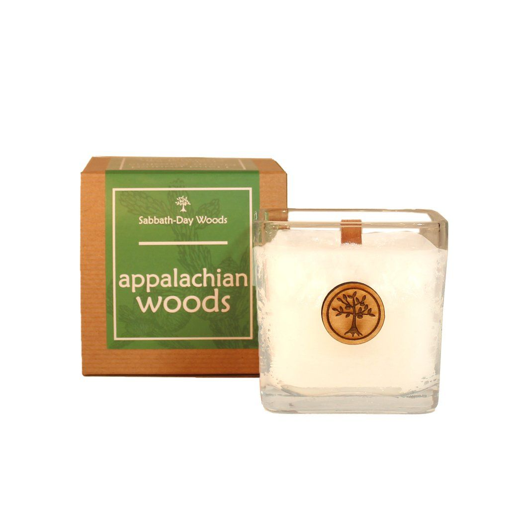 Appalachian woods candle wax wax candles and glass candle