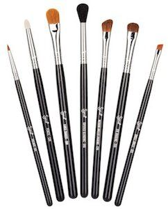 best sigma brushes. sigma basic eyes kit the beauty contains seven professional quality brushes for eyes. perfect applying, shading and blending products best a