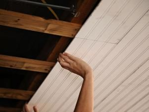Photo of How to Replace a Drop Ceiling With Beadboard Paneling