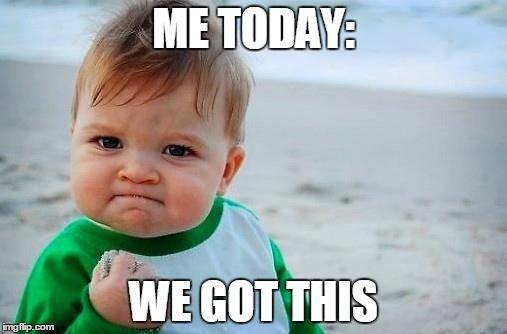 Victory Baby Meme Generator Imgflip Memes Big Little Success Kid
