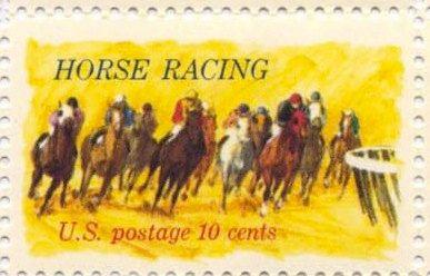 Baby Shower Stamps Usps ~ Kentucky derby horse racing vintage usps postage stamps set of