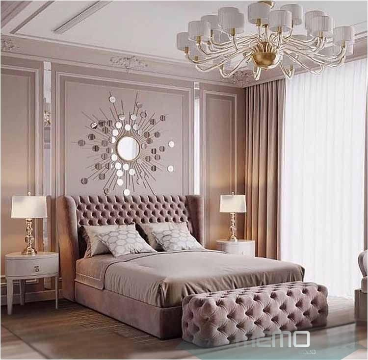 Feb 17 2020 Beautiful Rose Gold Luxury Bedroom Decor With