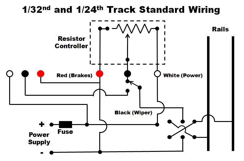 ho slot car wiring diagram