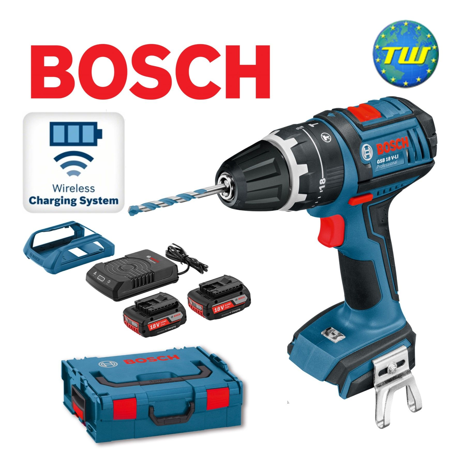 Http Www Twwholesale Co Uk Product Php Section 6083 Sn Bosch Wireless Gsb18v Li Bosch Wireless Gsb18v Li 18v Combi Drill Is Suppli Bosch Cordless Tools Drill