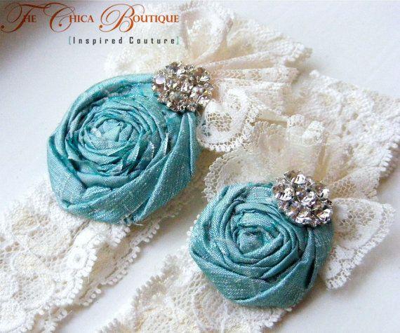 Funny Wedding Garters: Beautiful Custom Made Wedding Garter Set By The Chica