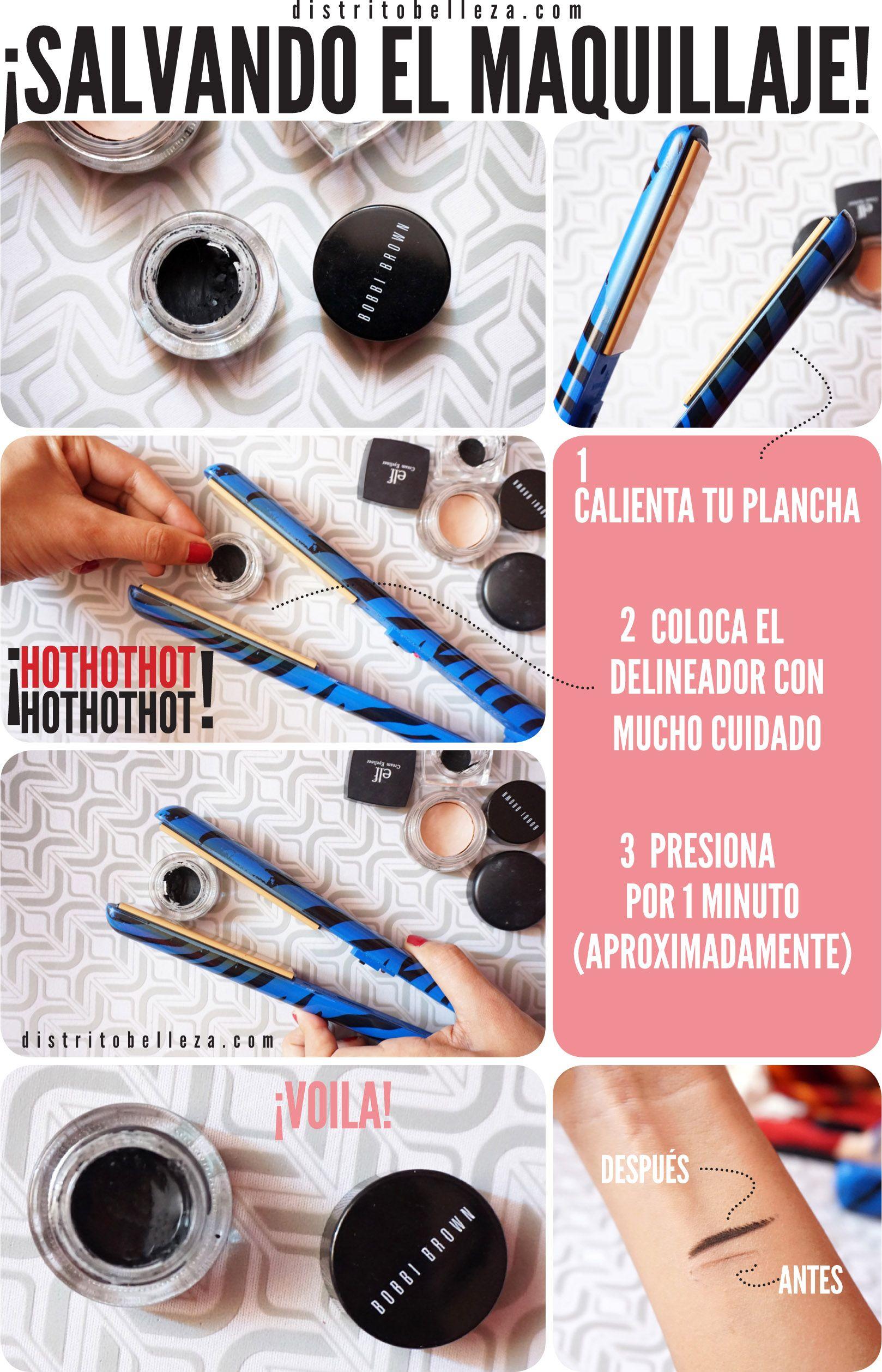 Reparar El Maquillaje Seco Distrito Belleza Maquillaje De Belleza Maquillaje Trucos De Belleza
