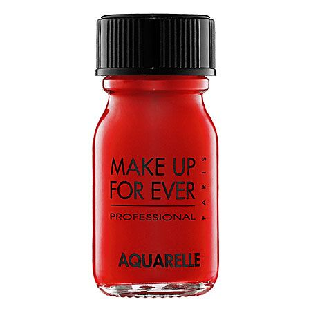 Bright red water-based formula for face and body  #SephoraColorWash