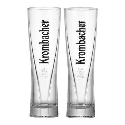 Bierglas Krombacher Star Cup – 0.25 Liter 2er Set Logo-Gläser ... | {Gläser 6}