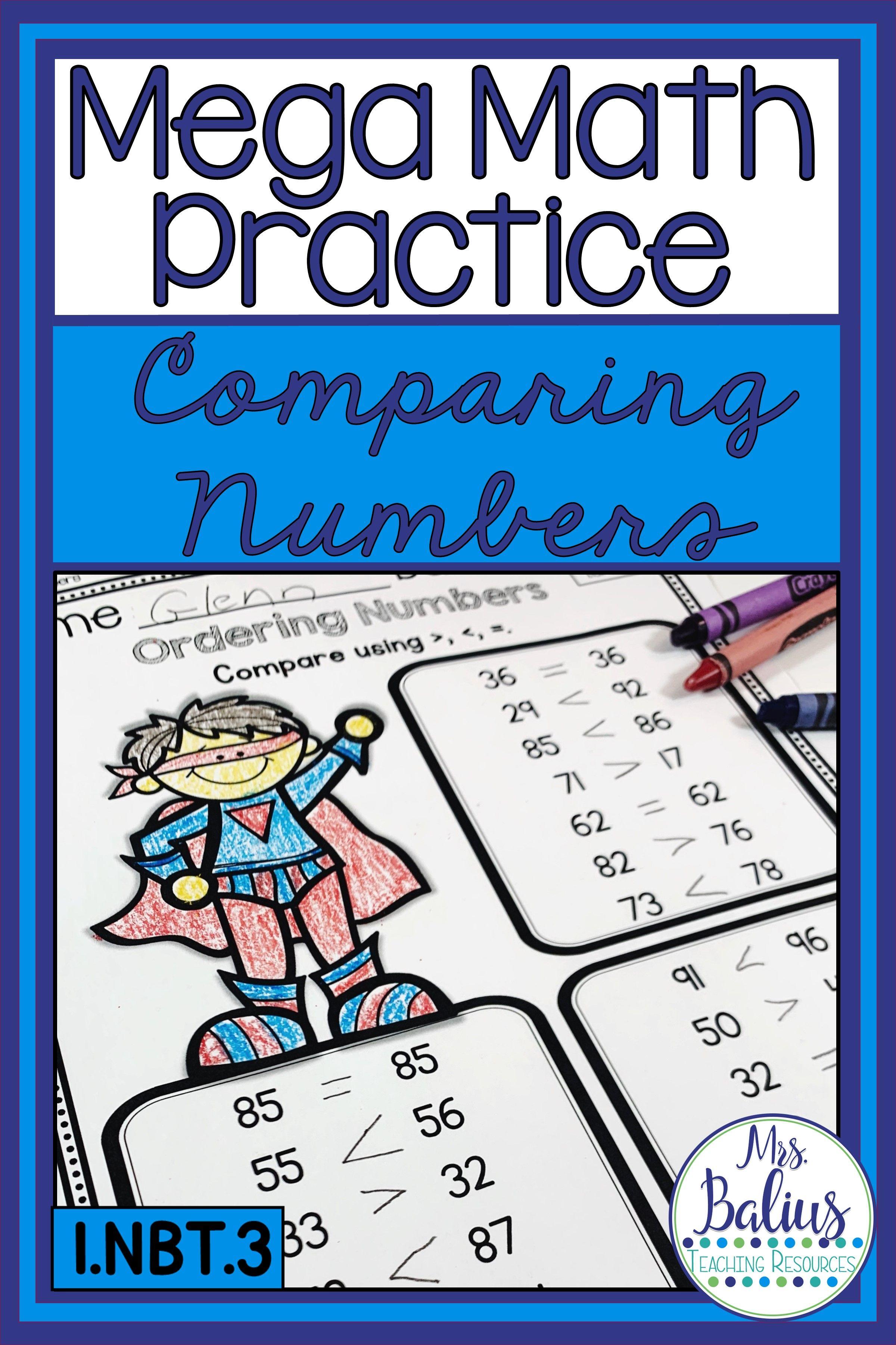 Ordering Comparing Numbers Slides Mega Math