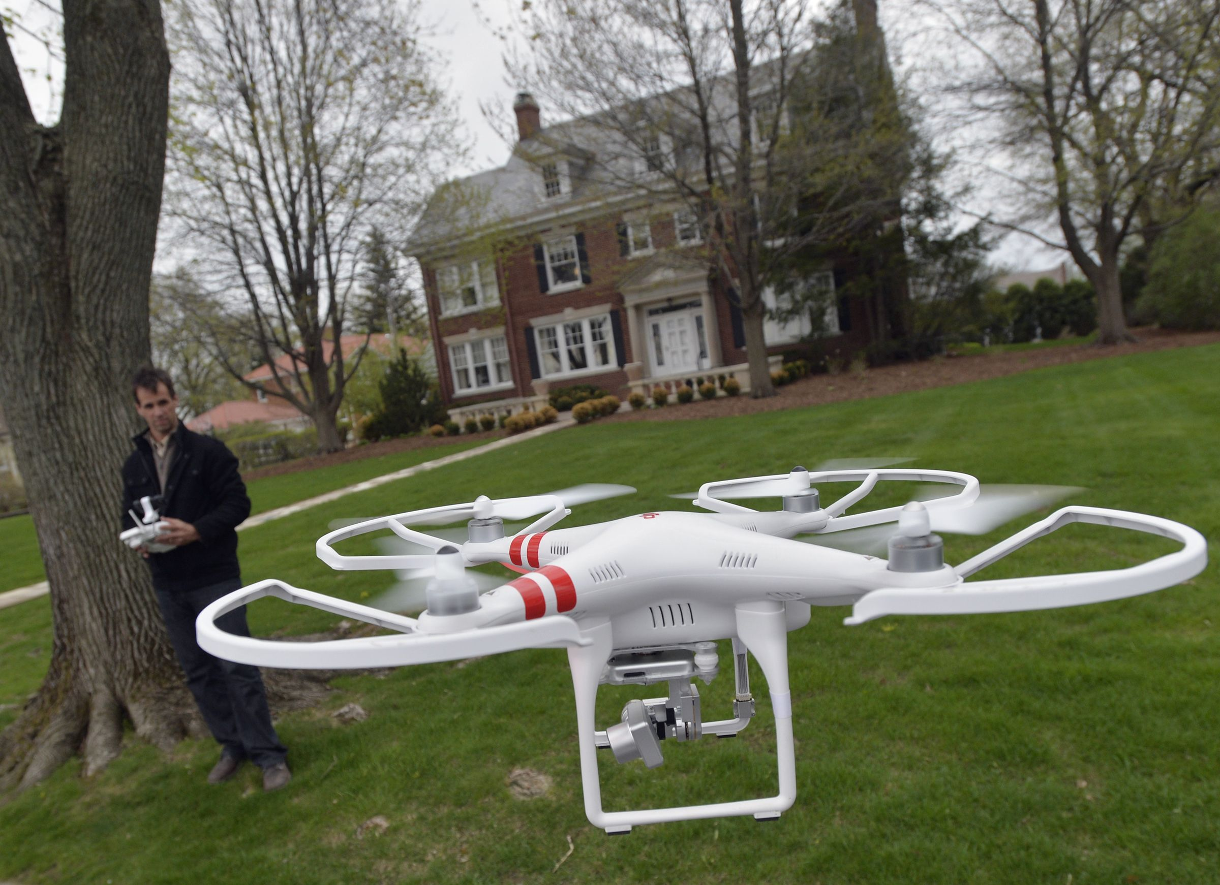 Arrival of the drones 20 uses for unmanned aircraft