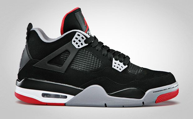 Air Jordan 4 Black/Red   NiceKicks.com