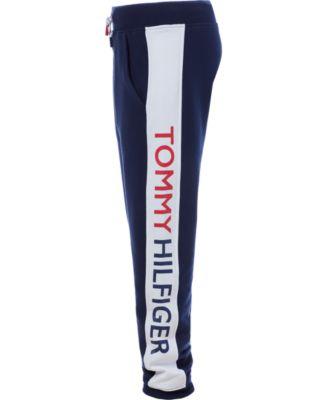 Tommy Hilfiger Big Boys Side Tape Track Pants Blue L 16 18 Tommy Hilfiger Leggings Kids Dresses With Leggings