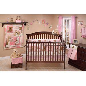 Little Bedding by NoJo - Dreamland Teddy 10pc Nursery in a Bag Crib