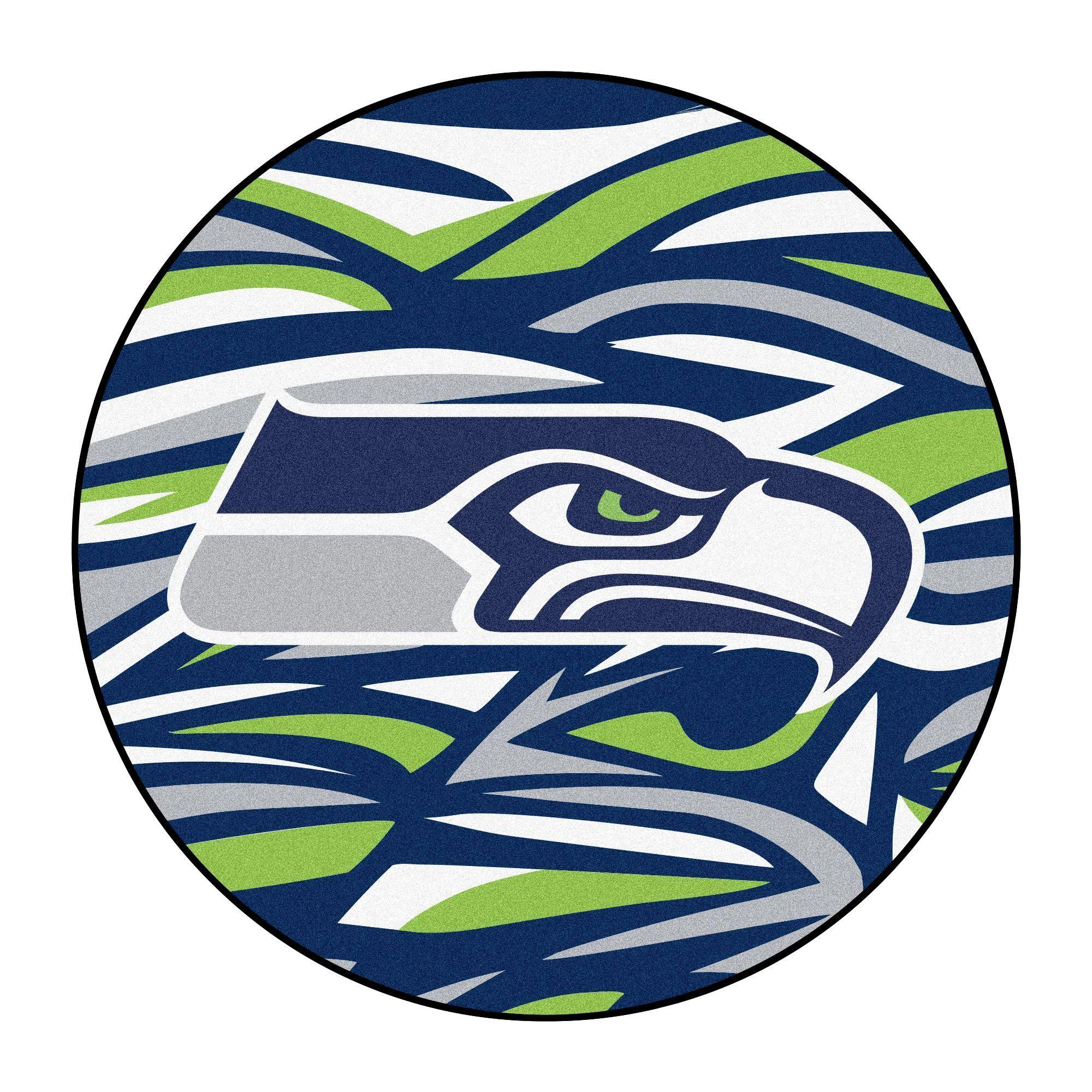 FanMats 23366 Seattle Seahawks XFIT Roundel Mat 27
