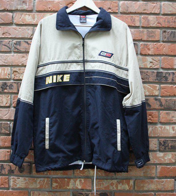 ae28635769b6 Vintage Nike Windbreaker and Pants Set Track Suit 90 s 80 s Retro Rare Men s  Large