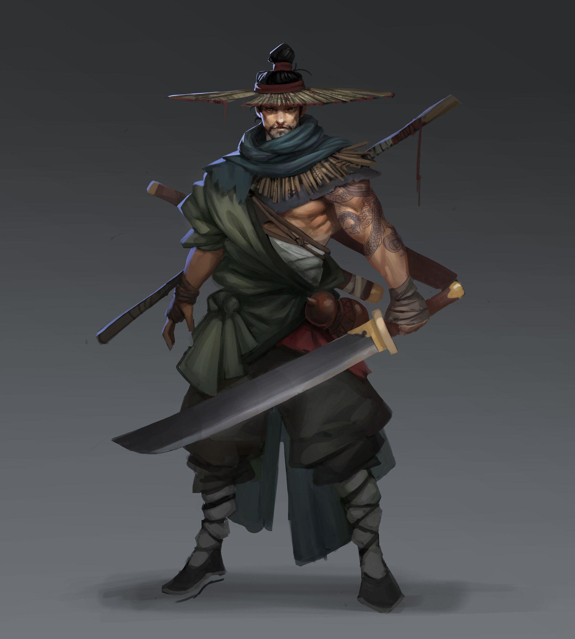 Pin by Ryan Reed on Heroes & Monsters | Samurai art