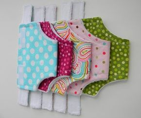 Baby Doll Diapers and Accessories TUTORIAL {Guest Blogger: Christina from 2 Little Hooligans} #dollaccessories