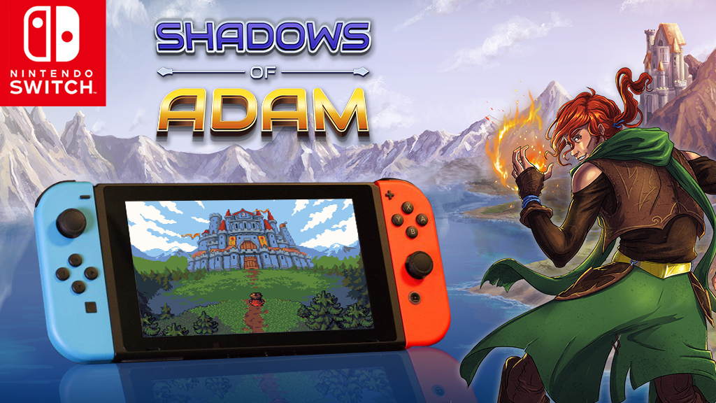 PR Shadows of Adam is coming to the Nintendo Switch