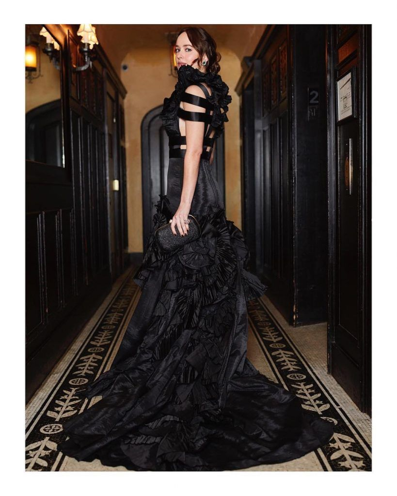 Vestido negro 50 sombras liberadas