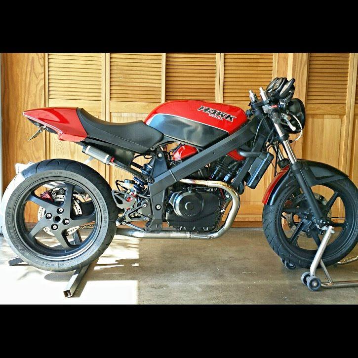 "Motorcycle Parts In Delaware Mail: ""Hawkster"" 88 Honda Hawk GT (NT650) Custom..."