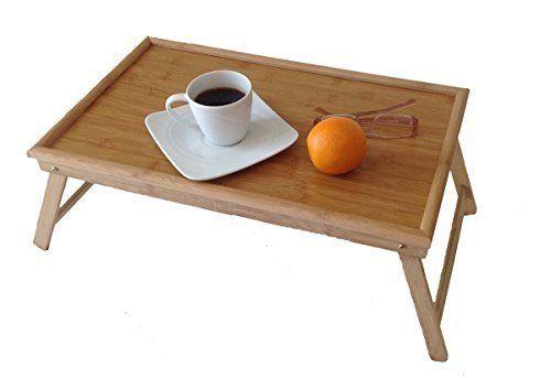 Frühstückstablett original gmmh laptop tablett bambus unterlage klapp tisch