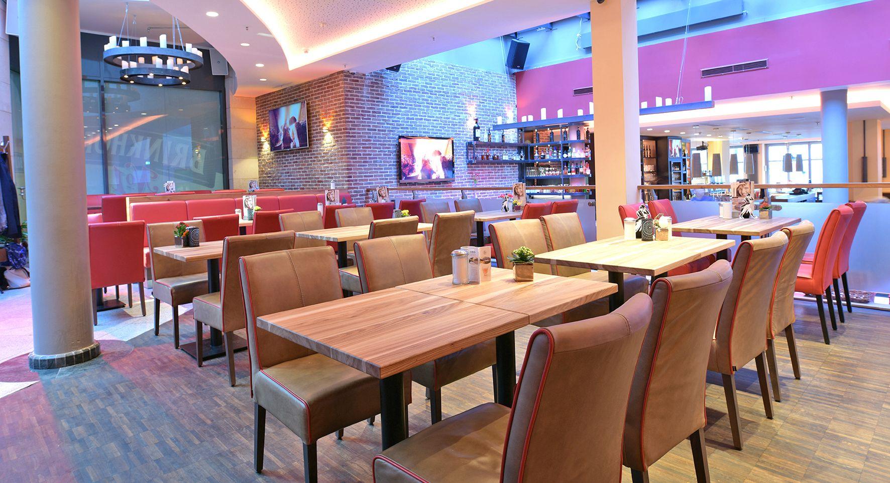 Objketeinrichtung Gastronomie City Dortmund. Einrichtung ...