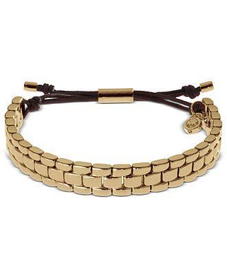 Michael Kors Bracelet Gold Macys Now