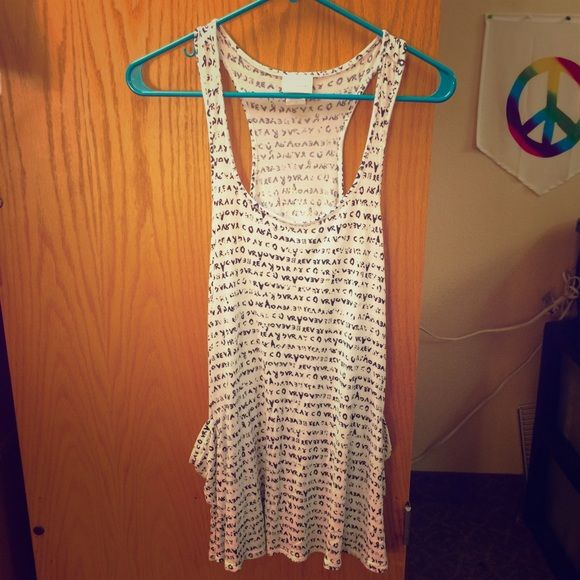 Pretty Good Tank Top Dress Pretty Good Tank Top Dress. Pacsun. Excellent condition. 100% rayon. PacSun Dresses Mini